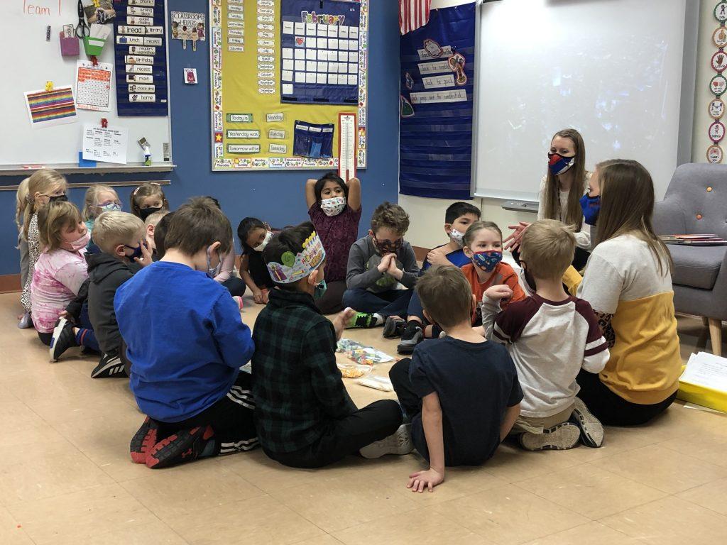 Mrs. Dodd's Kindergarten class