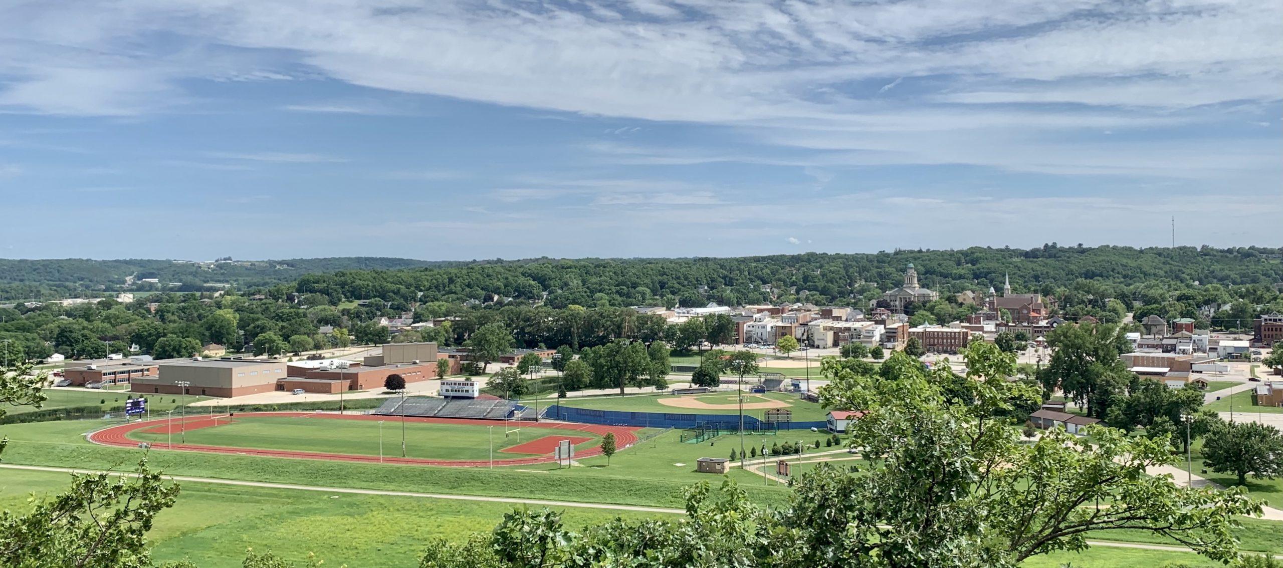 Overlooking Decorah, Iowa