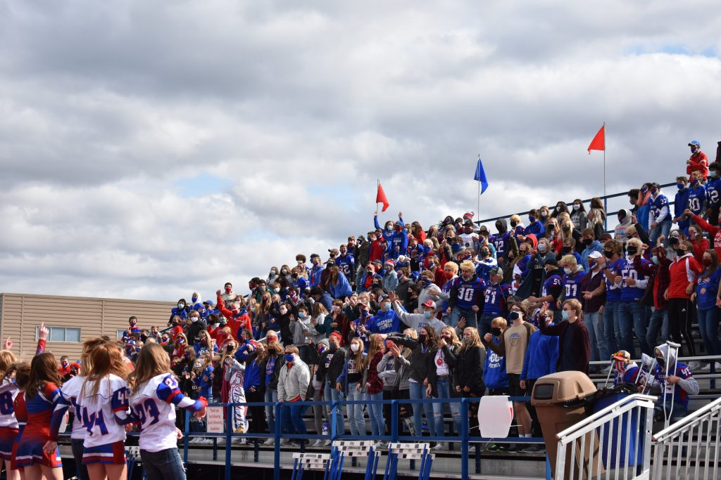 High school student section