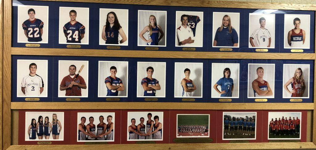 Alumni wall of fame photos