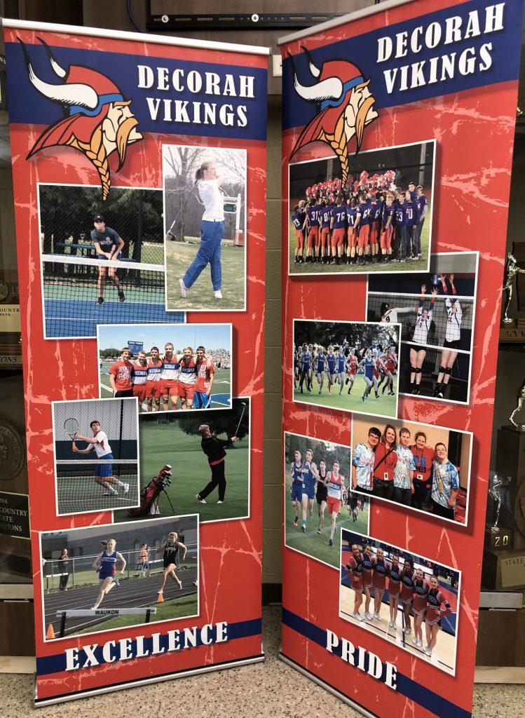Decorah Vikings Collage Banner