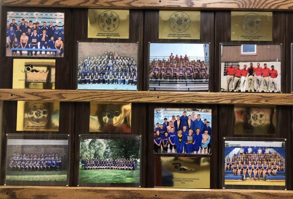 High school awards and pictures