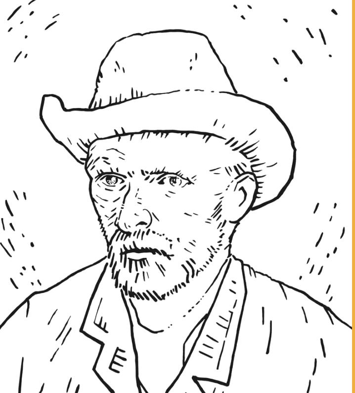 Van Gogh Drawing Image