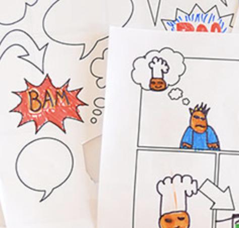 Comic book page image