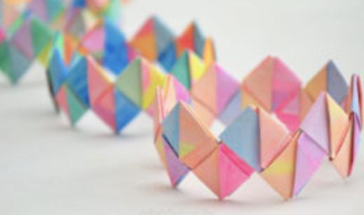 Paper Bracelet Image