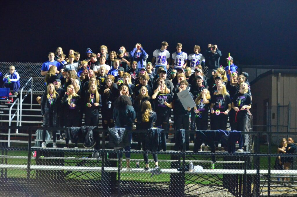 Junior High stands