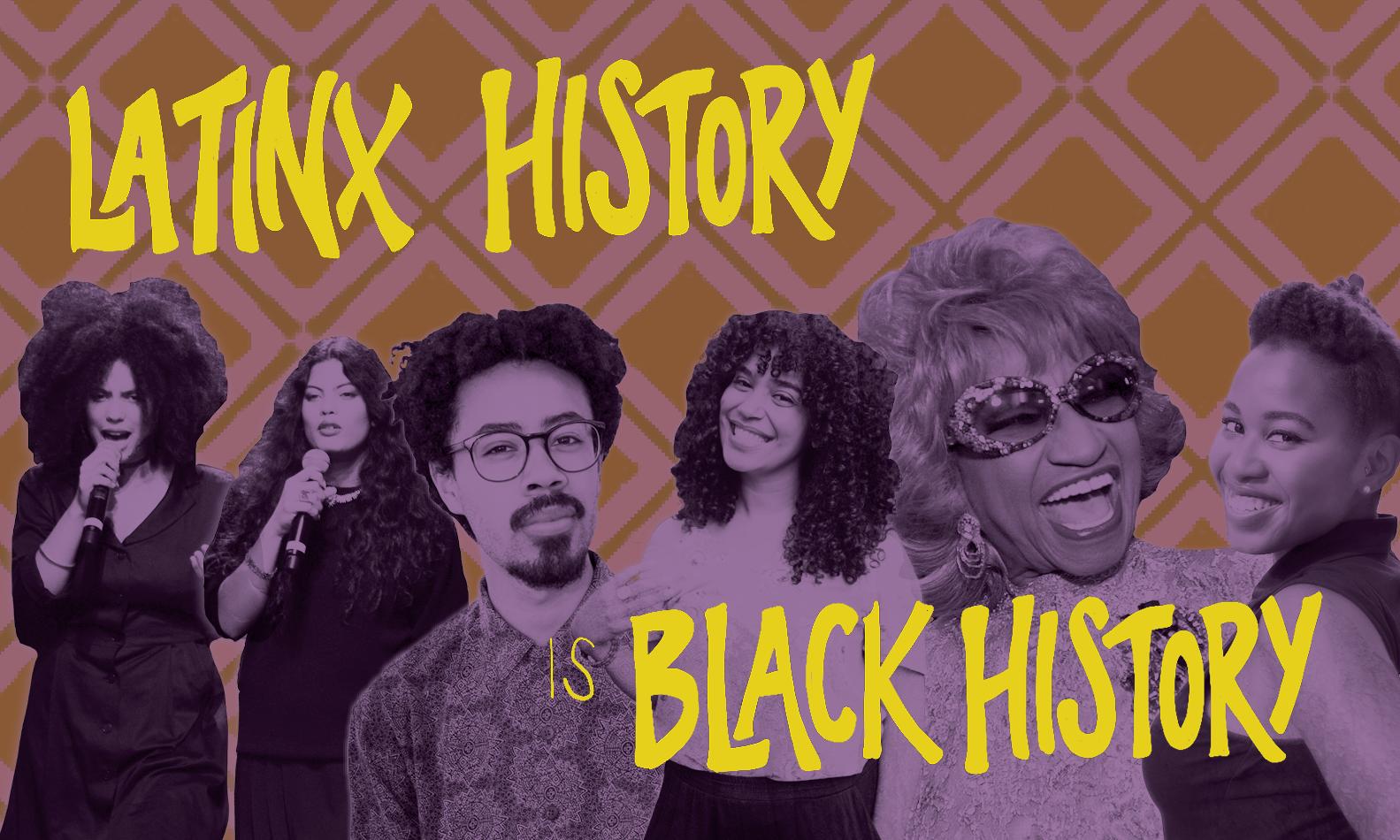 Latinx History is Black History webinar pic