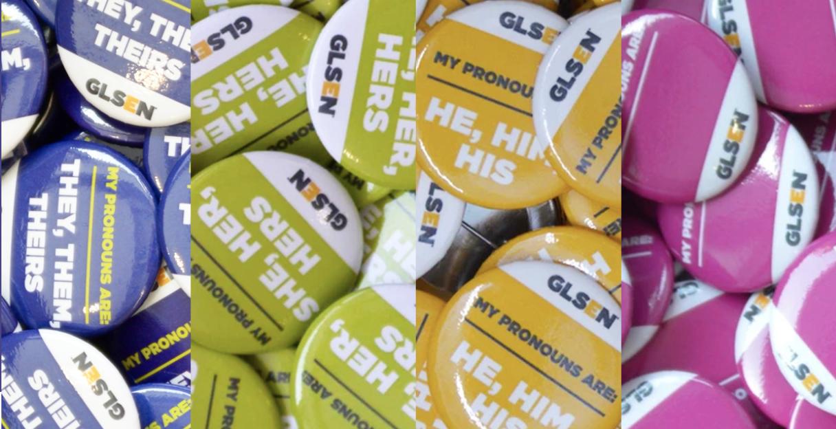 GLSEN Pronouns Guide Image