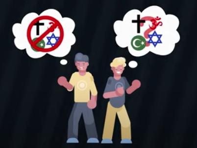 atheist vs. agnostic image